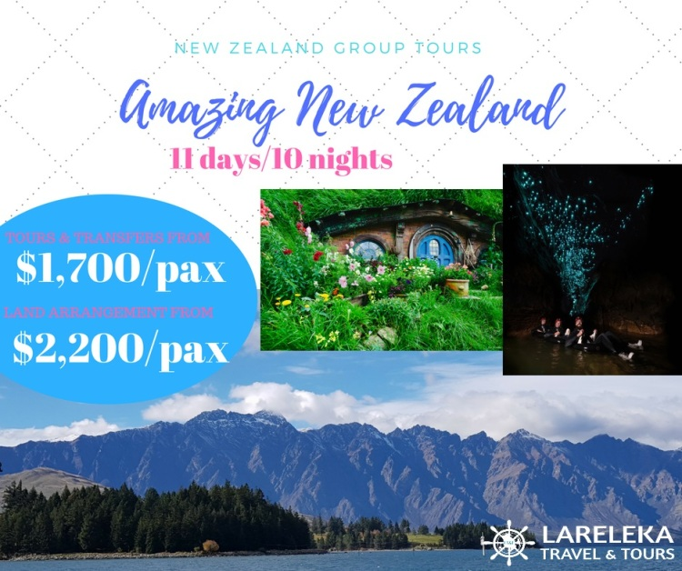 Amazing New Zealand Group Tours 11d10n Facebook Post