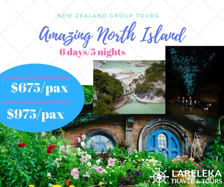 Amazing North Island Group Tour 6d5n Facebook Post