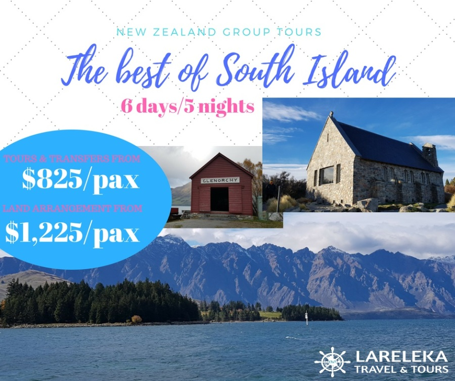 Amazing South Island Group Tour 6d5n Facebook Post