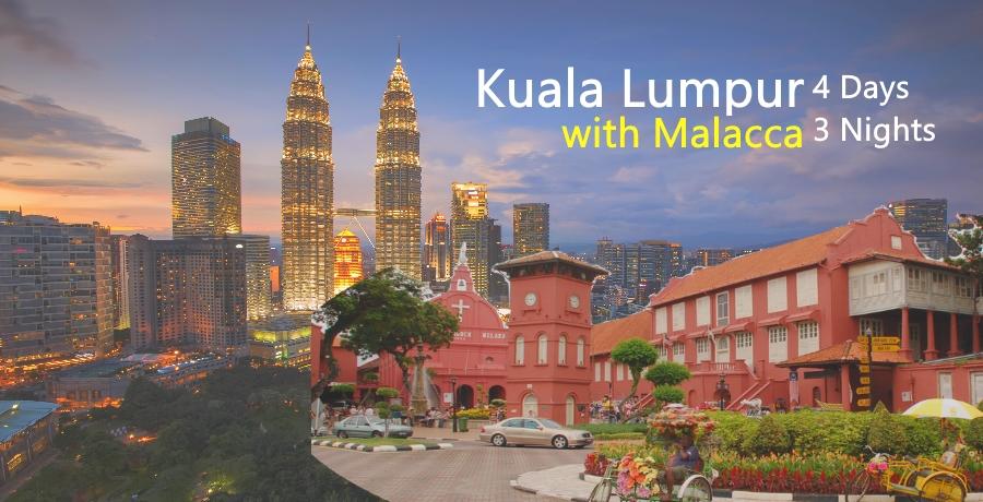 Kuala Lumpur Malacca 4d3n Lareleka Travel And Tours
