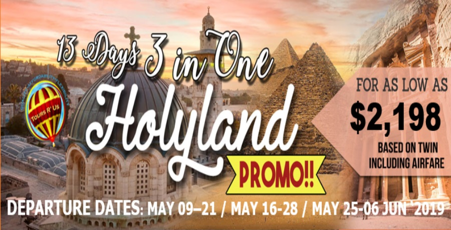 13 Days 3 in One Holyland post may 2018