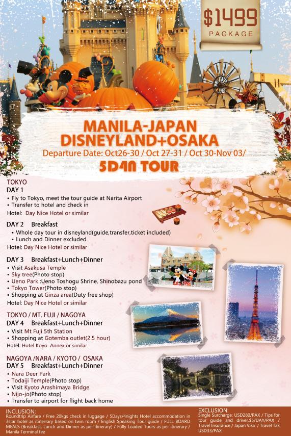 Manila - Osaka - Disneyland.2